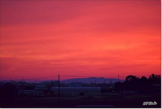 Photos: 赤い東雲