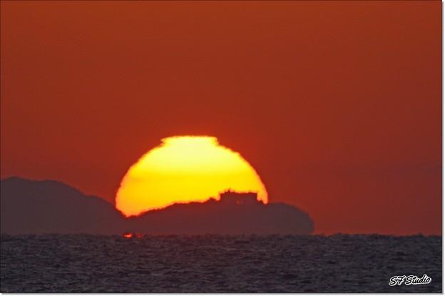伊良湖岬からの日の出