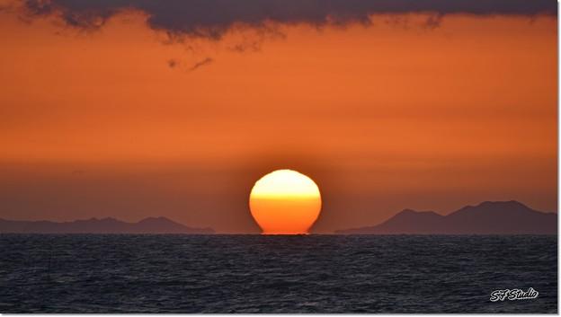 日の丸構図