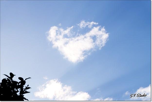 Photos: ハートの雲