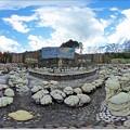 Photos: 360度展望 未完の大作「虹の泉」