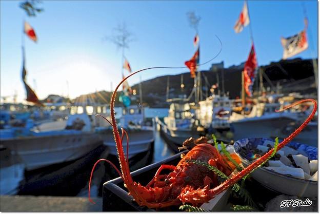 石鏡漁港「 初乗り神事」
