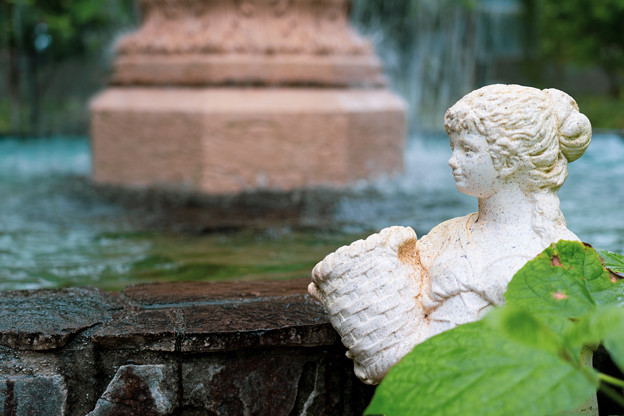 噴水の乙女