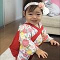 Photos: 孫娘の1歳のお祝い-01