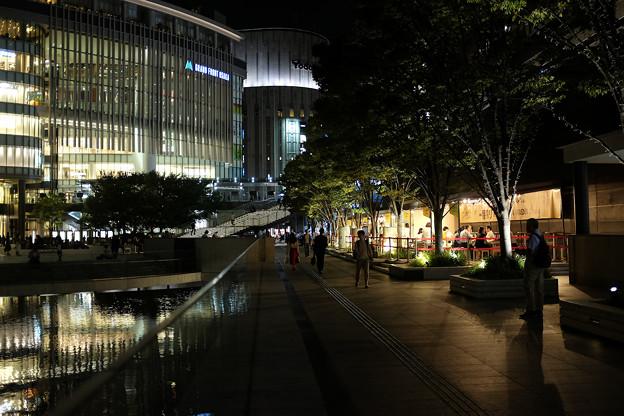 夜のJR大阪駅-3