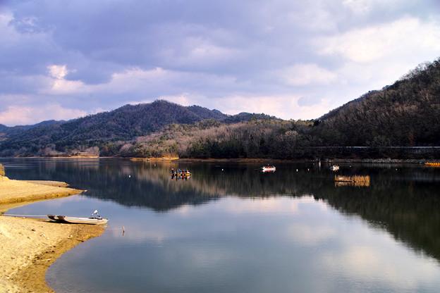 「千丈寺湖」兵庫県三田市にて
