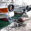停泊中の漁船