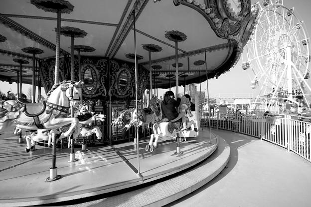 Photos: 遊園地にて