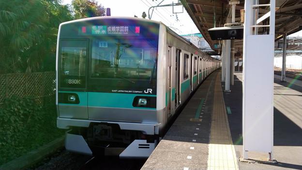 E233系2000番台 東マト18編成 [JR東日本 馬橋駅]