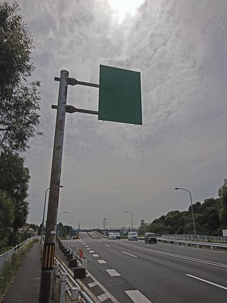 標識(緑看) [国道6号線]