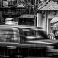 Photos: 「雨宿り」 丸太町通 - 京都