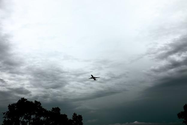広域豪雨の日撮影