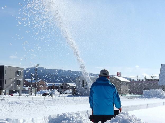 雪映えの日