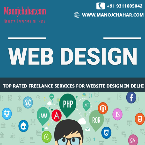 Top Rated Freelance Services for Website Design in Delhi