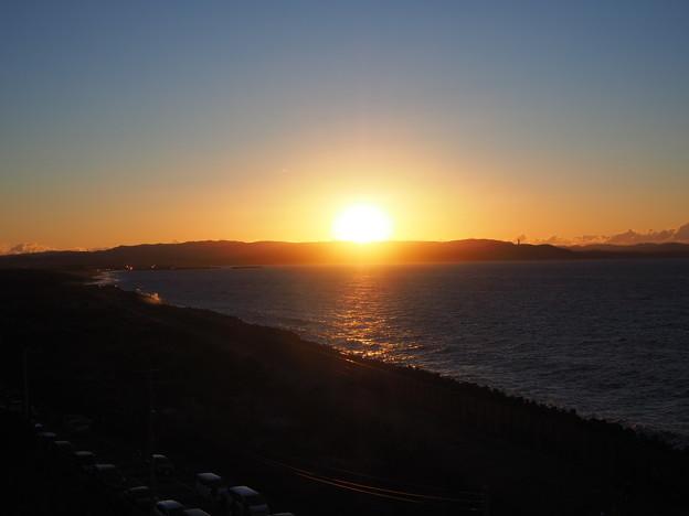 富津岬の展望台より(2021年1月1日)・・・Part1