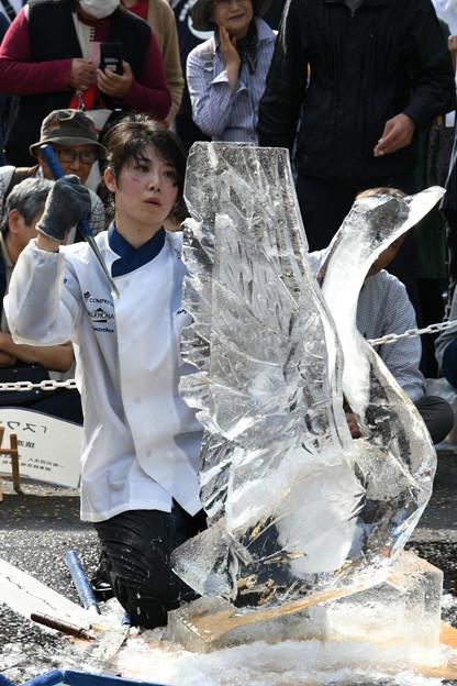 Photos: 氷の彫刻