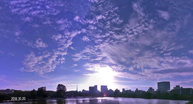 Photos: 秋の空838a3_ikesora