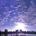 写真: 秋の空838a3_ikesora