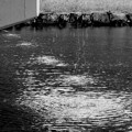 写真: 土砂降り