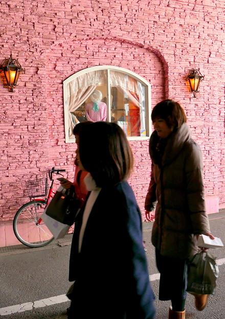 ピンクの館