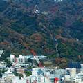 六甲山ホテル遠望