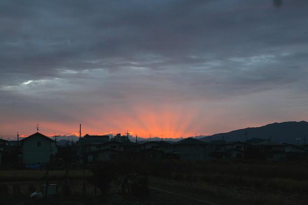 20181023 我が家からの朝焼け前