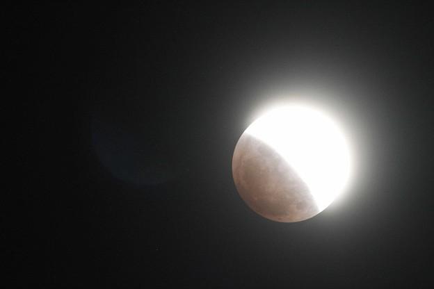 Photos: 皆既月食(スーパーブルーブラッドムーン)