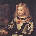 写真: ディエゴ・ベラスケスと工房1654王女マルガリータ-ルーブル美術館