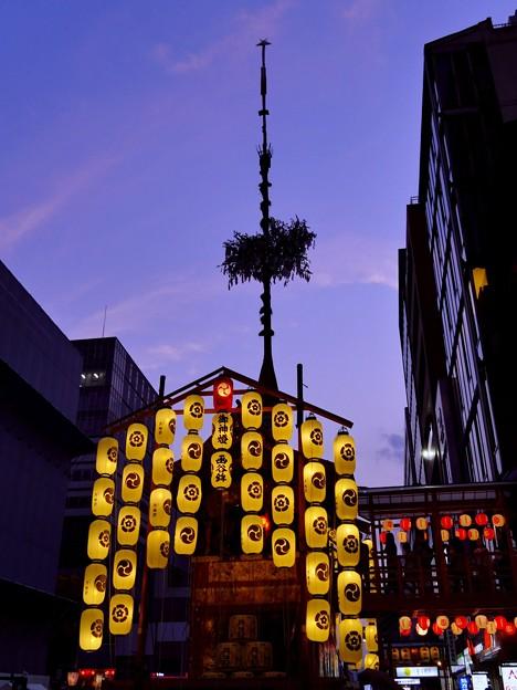 祇園祭・黄昏時