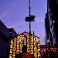 写真: 祇園祭・黄昏時
