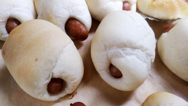 手作りお惣菜パン by 奥さん&次女