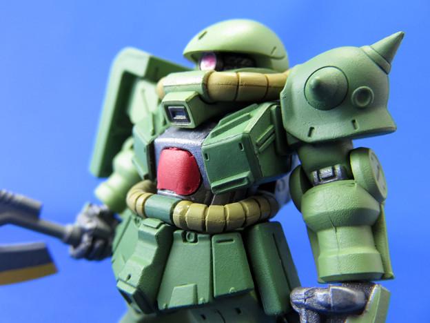 FW GUNDAM CONVERGE #17 221 MS-06FZ ZAKU II FZ(ザク?改)