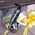Photos: イオンでワンコのブリキプランタースタンドを購入