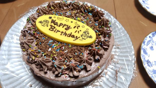 長女手作りバースデーケーキ