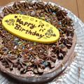 Photos: 長女手作りバースデーケーキ