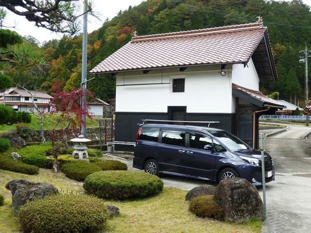 愛車トヨタノア80系 in 奥さんの実家