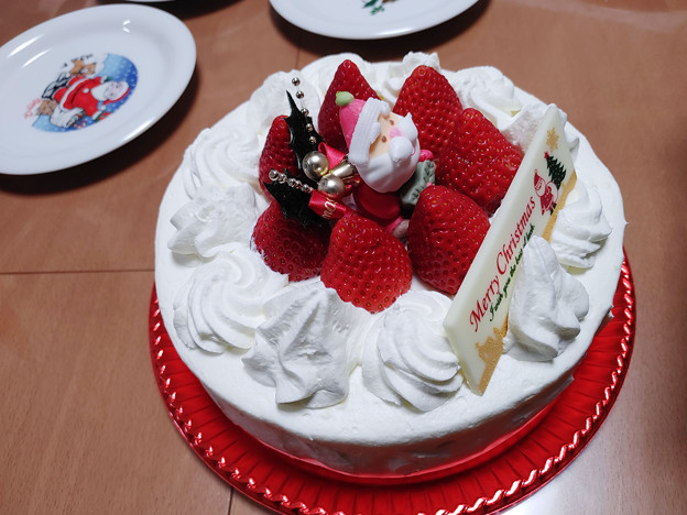 2020 クリスマスケーキ(LG Style3 L-41A撮影)