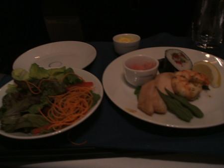 機内食前菜(洋食)