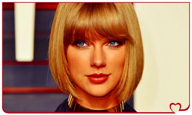Beautiful Blue Eyes of Taylor Swift(10653)