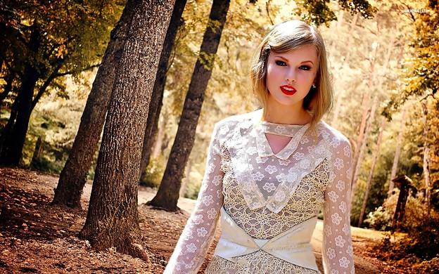 Beautiful Blue Eyes of Taylor Swift (10762)