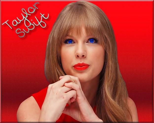 Beautiful Blue Eyes of Taylor Swift (10783)