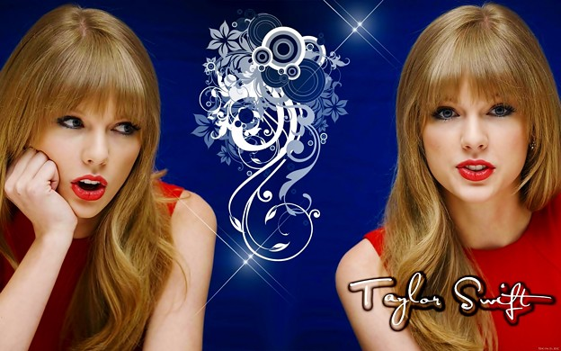 Beautiful Blue Eyes of Taylor Swift (10811)