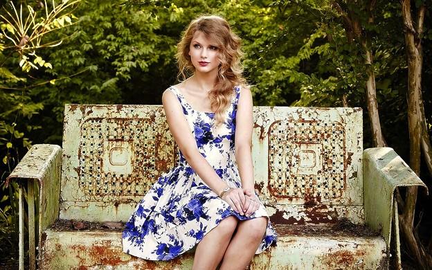 Beautiful Blue Eyes of Taylor Swift (10820)