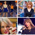 Beautiful Blue Eyes of Taylor Swift (10831)Collage