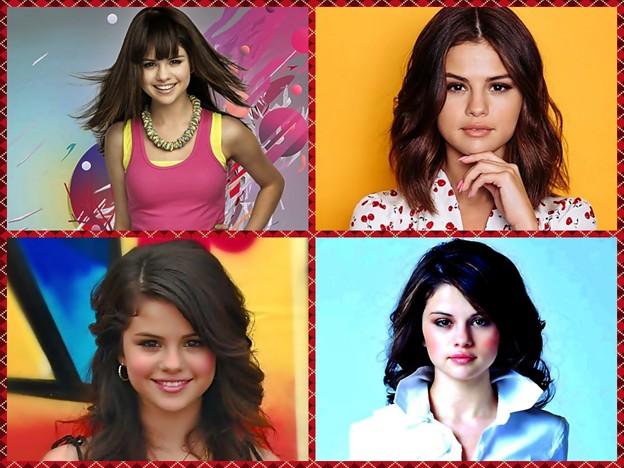 Beautiful Selena Gomez(9005807)Collage