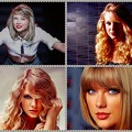 Beautiful Blue Eyes of Taylor Swift (10836)Collage