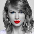 Beautiful Blue Eyes of Taylor Swift (10838)