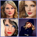 Beautiful Blue Eyes of Taylor Swift (10871)Collage
