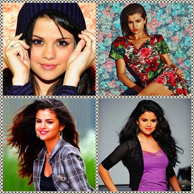 Beautiful Selena Gomez(9005833)Collage