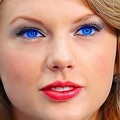 Beautiful Blue Eyes of Taylor Swift (10875)